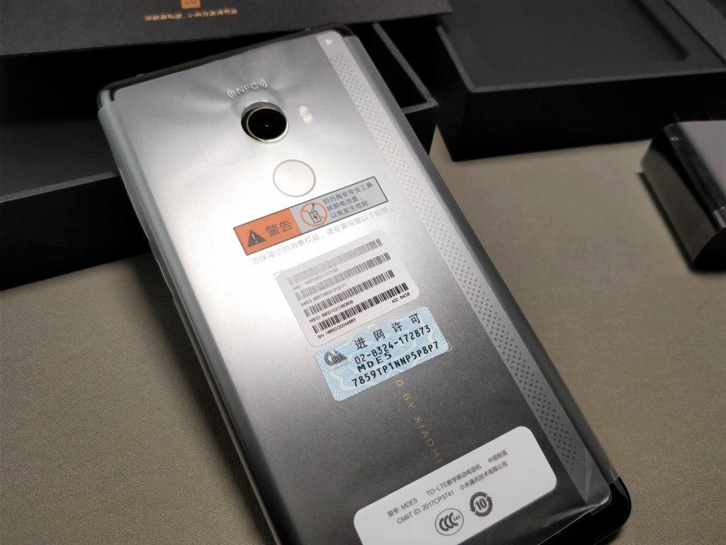 Xiaomi Mi MIX 2 化粧箱 本体