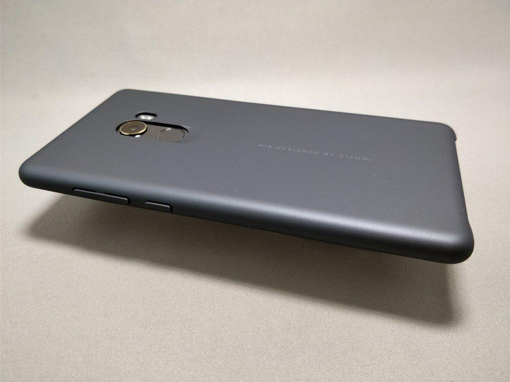 Xiaomi Mi MIX 2 保護ケース装着