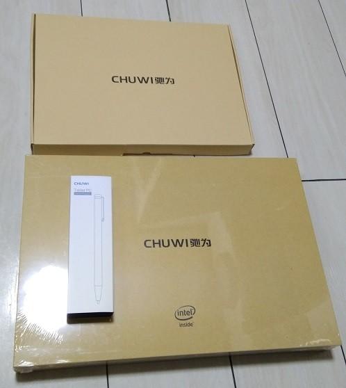 Chuwi SurBook 化粧箱