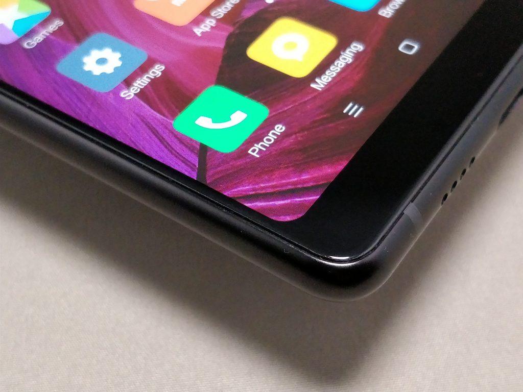 Xiaomi Mi MIX 2  ベゼル