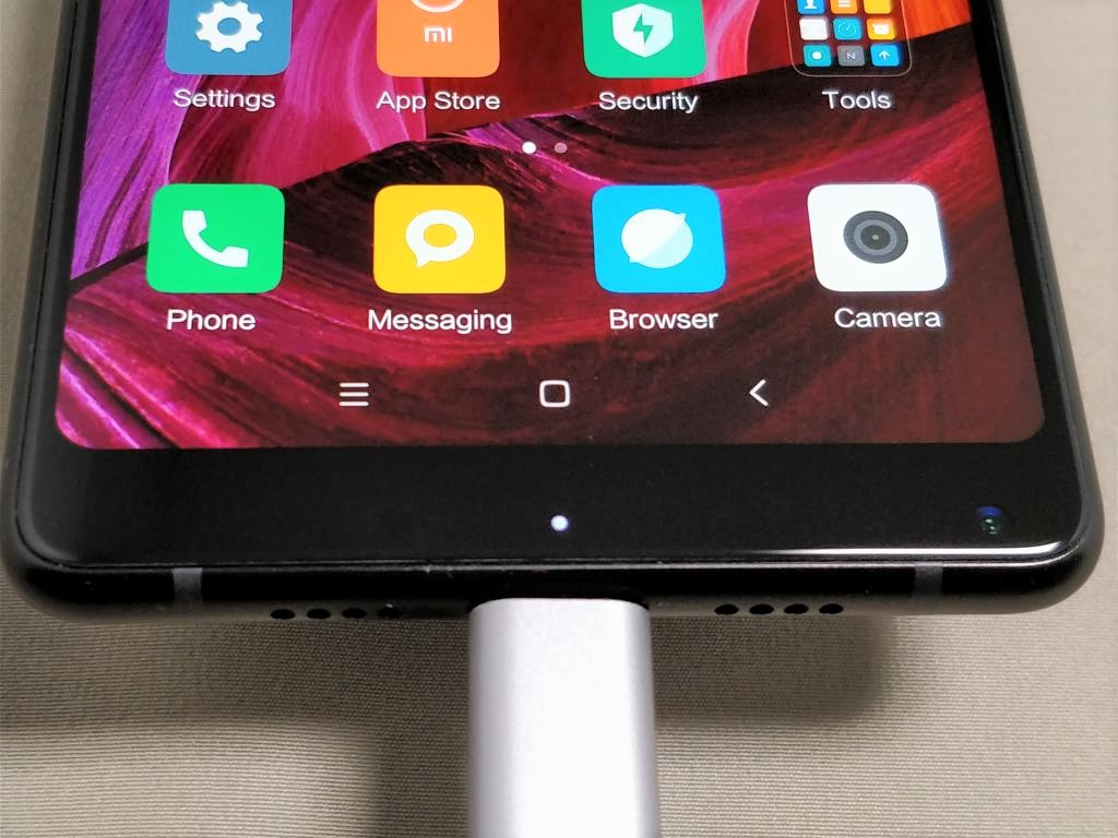 Xiaomi Mi MIX 2 LEDランプ