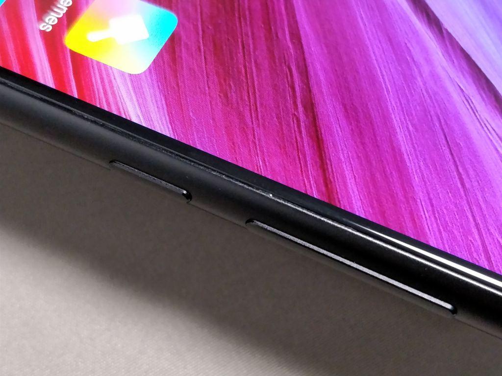 Xiaomi Mi MIX 2 側面 ボタン2