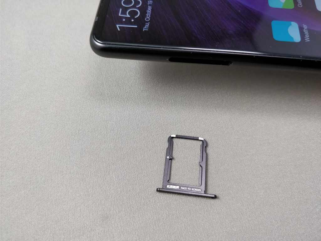 Xiaomi Mi MIX 2 NanoSIM 出した