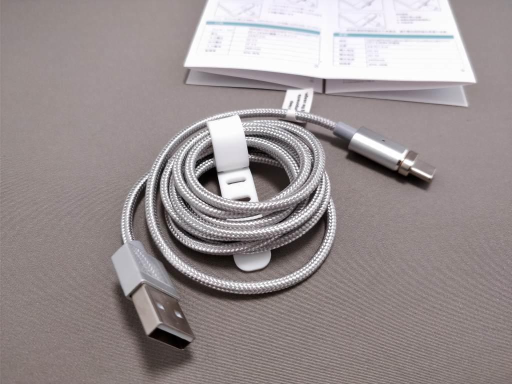 USB Type-C 磁力吸着 着脱式コネクタ&ケーブル ケーブル