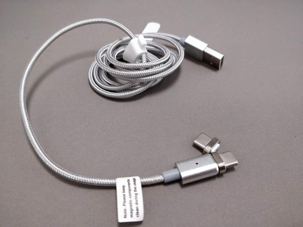 USB Type-C 磁力吸着 着脱式コネクタ&ケーブル コネクタ ケーブル出す