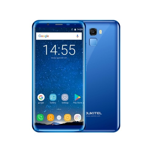tomtop Oukitel K5000 MTK6750T 1.5GHz 8コア BLUE(ブルー)