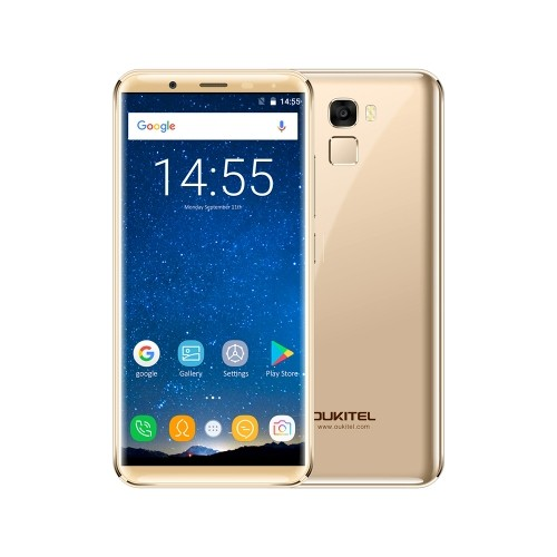 tomtop Oukitel K5000 MTK6750T 1.5GHz 8コア GOLD(ゴールド)