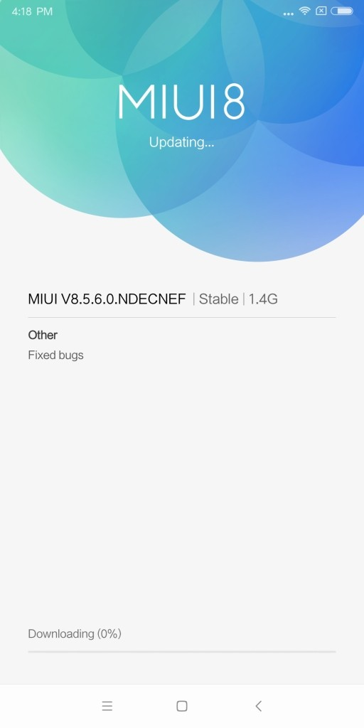 Xiaomi Mi MIX 2 アップデート8