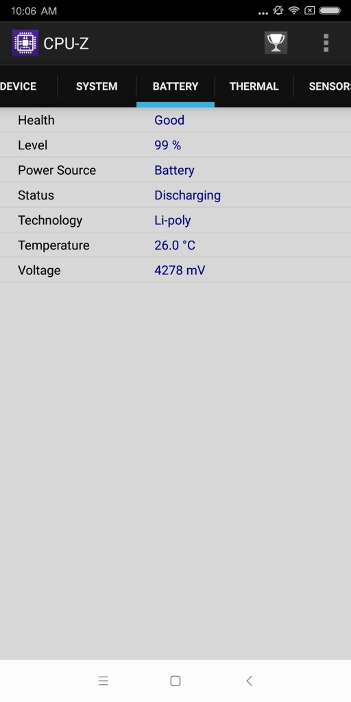 Xiaomi Mi MIX 2 CPU-Z 4