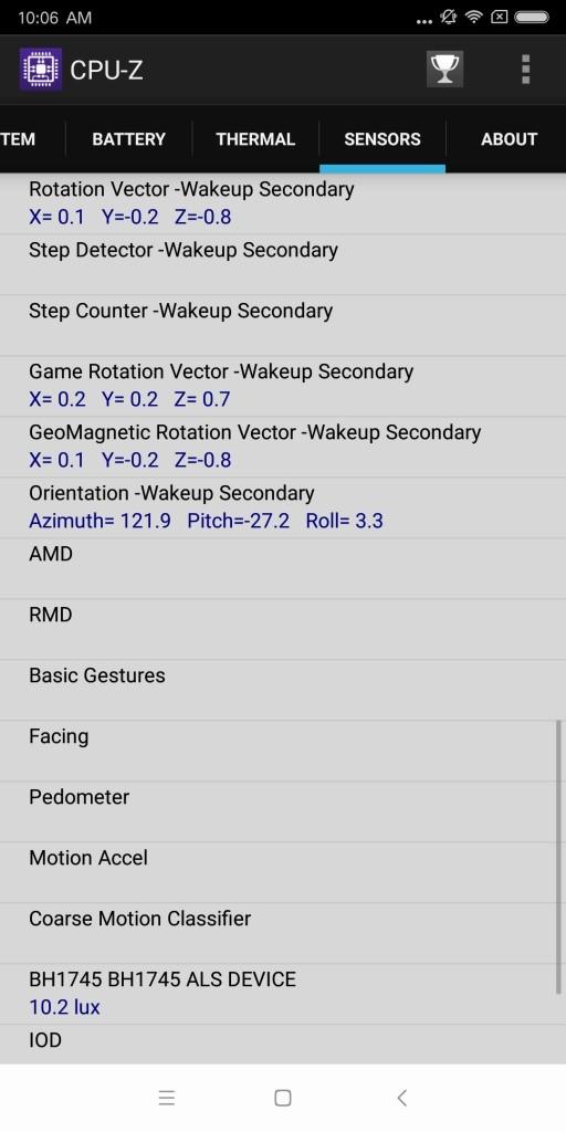 Xiaomi Mi MIX 2 CPU-Z 8