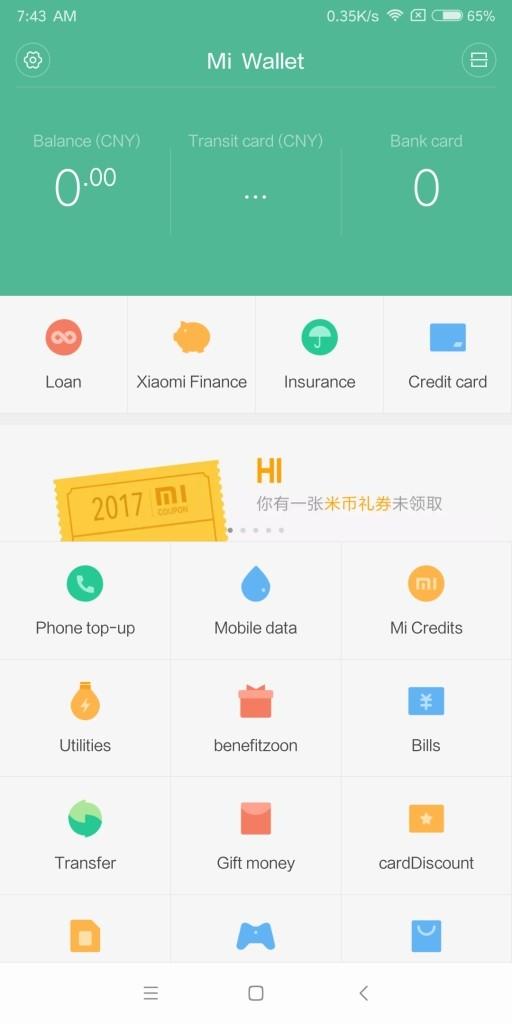 Xiaomi Mi MIX 2 Mi Wallet