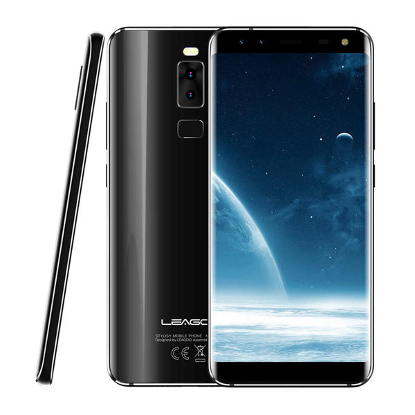 LEAGOO S8 MTK6750T 1.5GHz 8コア BLACK(ブラック)
