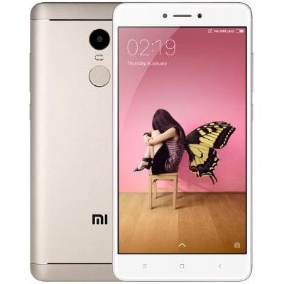 gearbest Xiaomi Redmi Note 4 MTK6797 Helio X20 2.1GHz 10コア GOLDEN(ゴールデン)