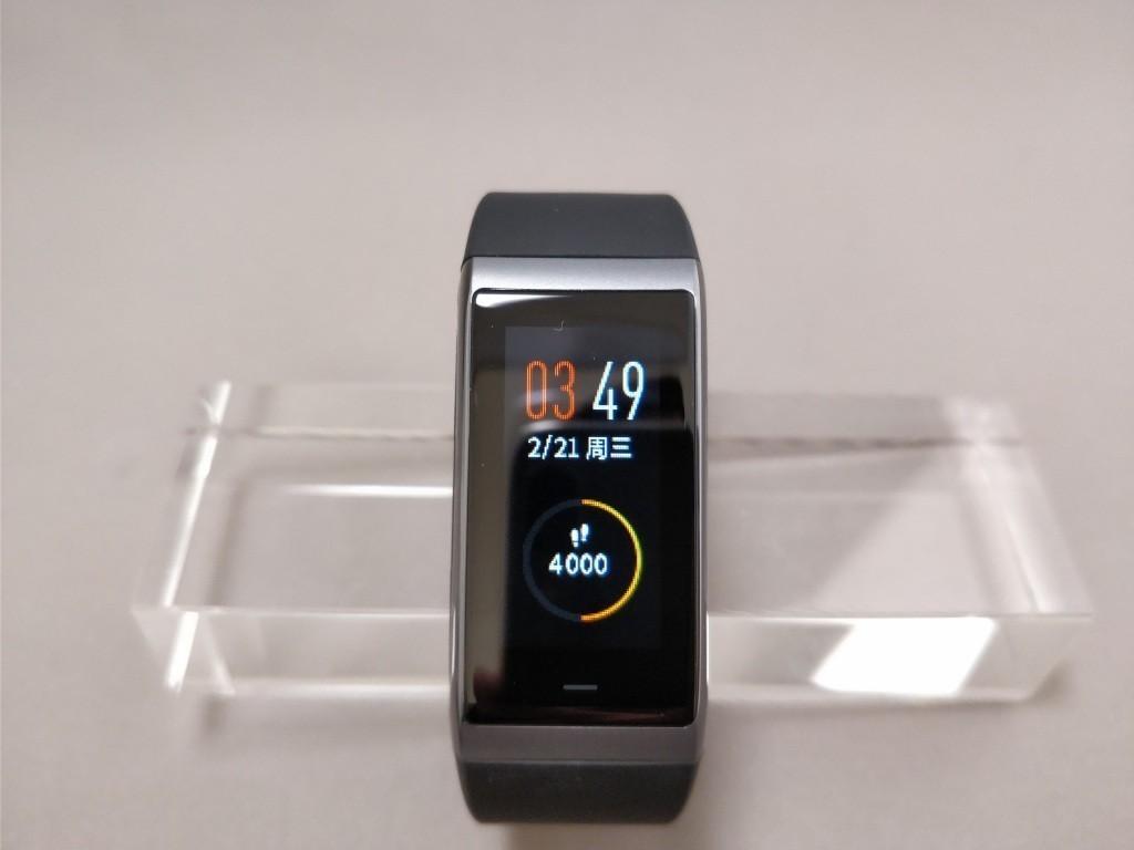 Xiaomi AMAZFIT Heart Rate Smartband スワイプ