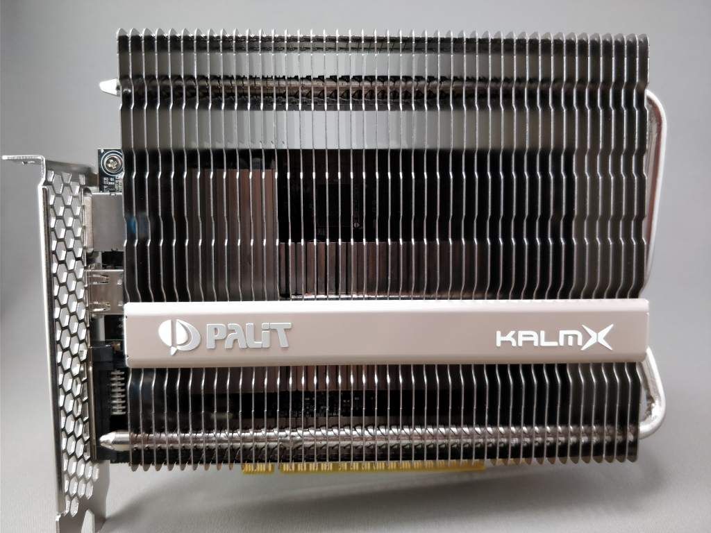 Palit GeForce GTX 1050 Ti KalmX  前