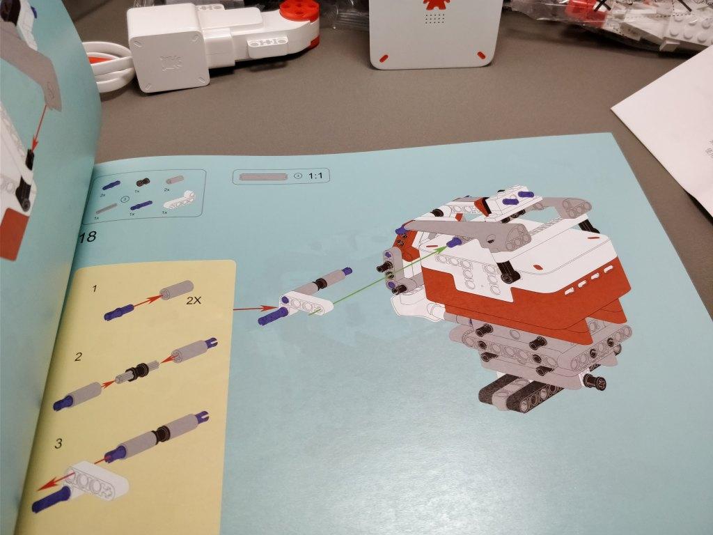 Xiaomi MITU DIY 自立走行ロボ 組み立て レビュー 組み立て説明