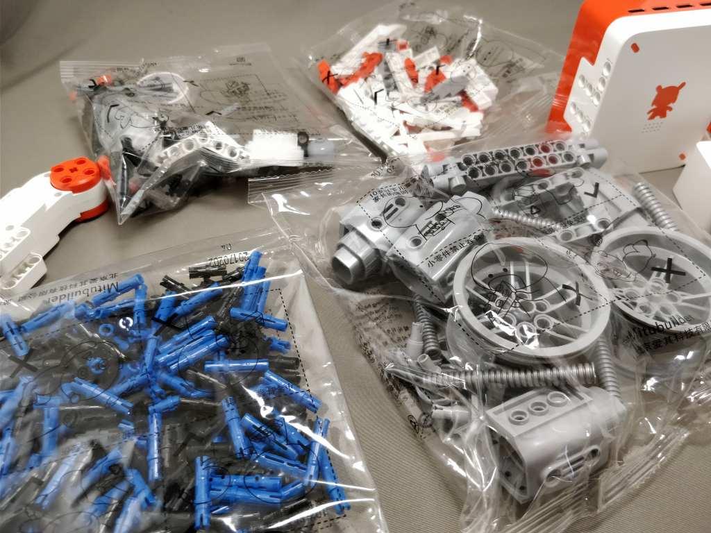 Xiaomi MITU DIY 自立走行ロボ 組み立て レビュー ブロックパーツ