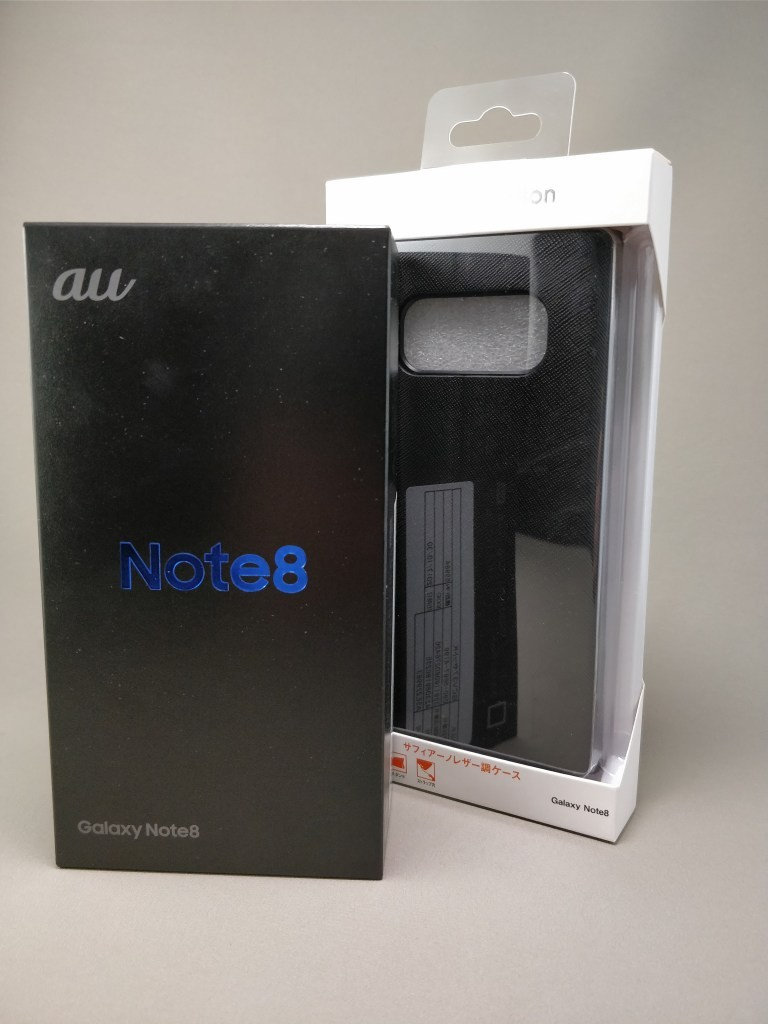 Galaxy note 8 化粧箱 ケース