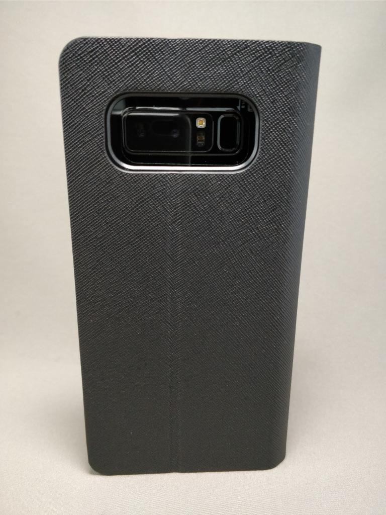 Galaxy note 8 手帳型ケース装着