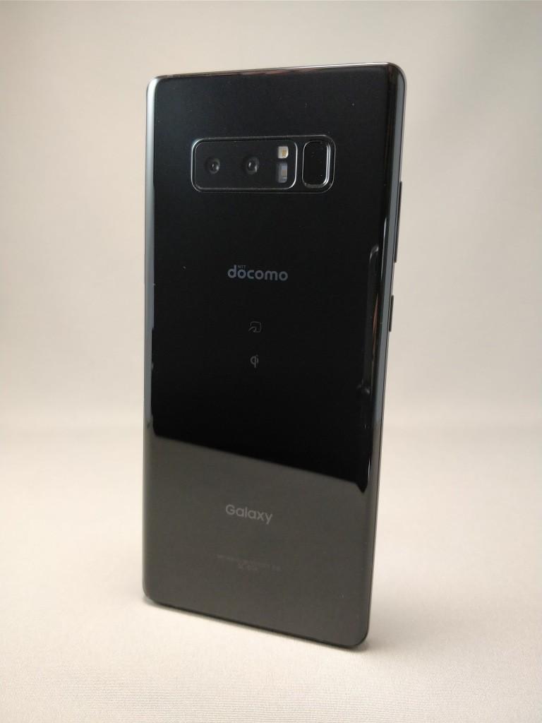 Galaxy note 8 裏 ブラック8