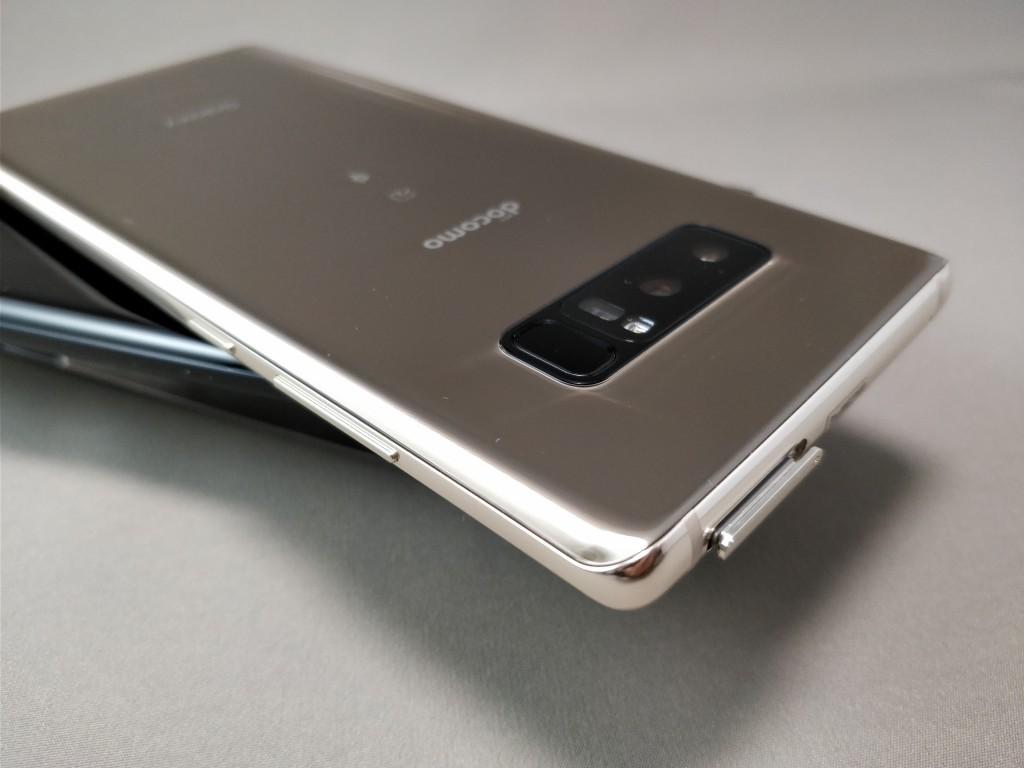 Galaxy note 8 裏 SIM