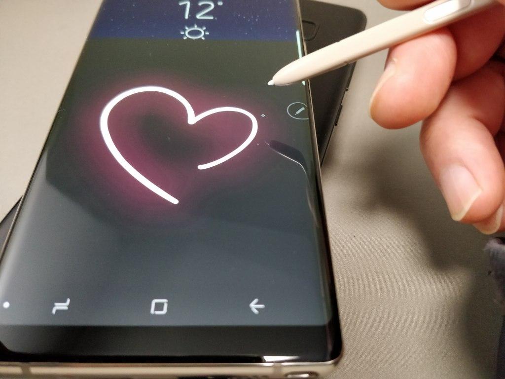 Galaxy note 8 ペンで遊ぶ8