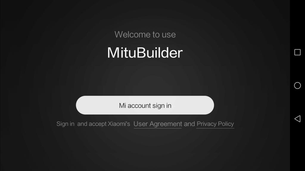 Xiaomi MITU DIY 自立走行ロボ アプリ ログイン
