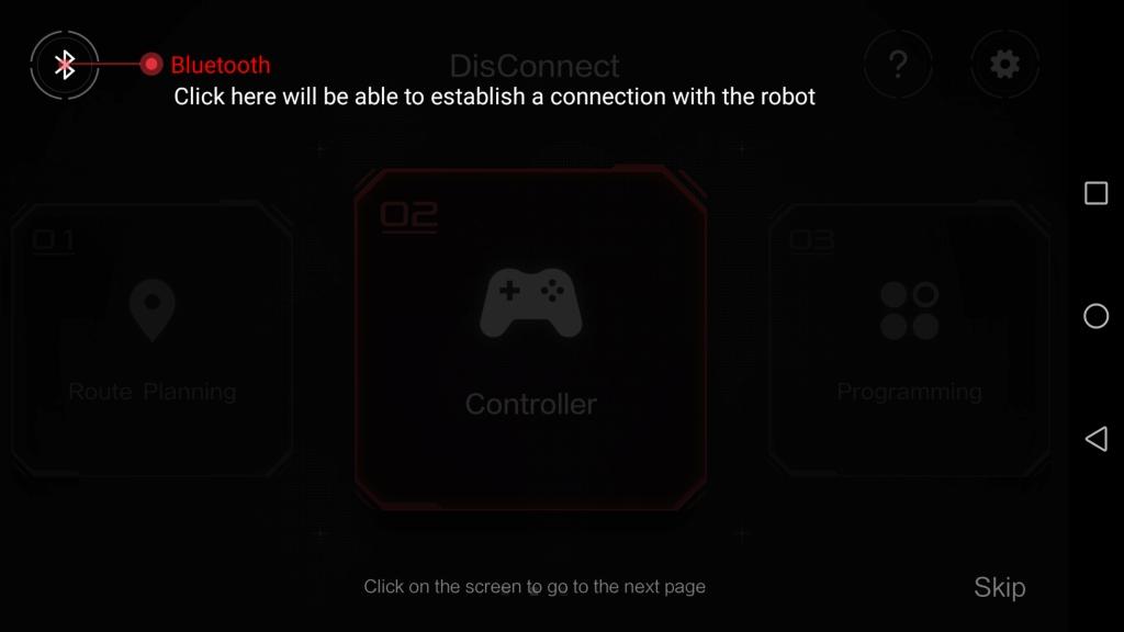 Xiaomi MITU DIY 自立走行ロボ アプリ Bluetooth接続