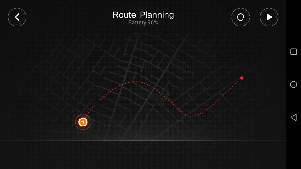 Xiaomi MITU DIY 自立走行ロボ アプリ ルート2