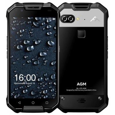 gearbest AGM X2 Snapdragon 653 MSM8976SG 1.8GHz 8コア BLACK(ブラック)