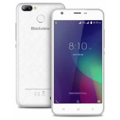 gearbest Blackview A7 Pro MTK6737 1.3GHz 4コア WHITE(ホワイト)