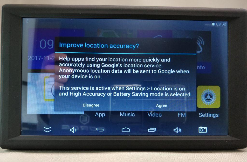 KKmoon 9inch Tablet  ホーム画面2