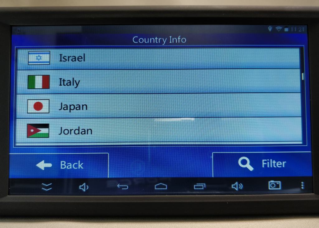 KKmoon 9inch Tablet  設定 カントリー