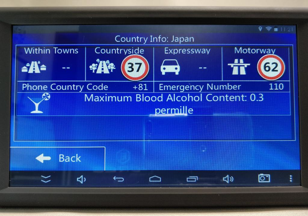 KKmoon 9inch Tablet  設定 カントリー 日本語