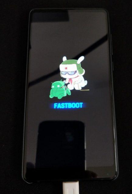Xiaomi Mi MIX2 fastboot