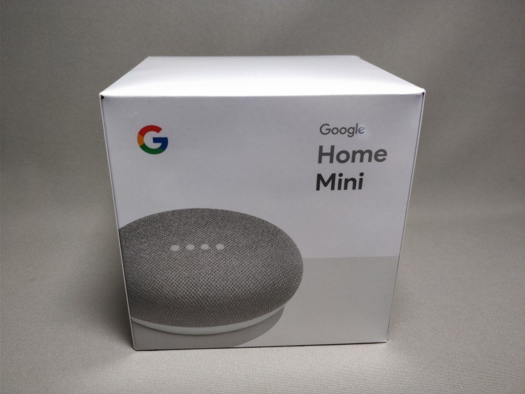 Google Home Mini 化粧箱