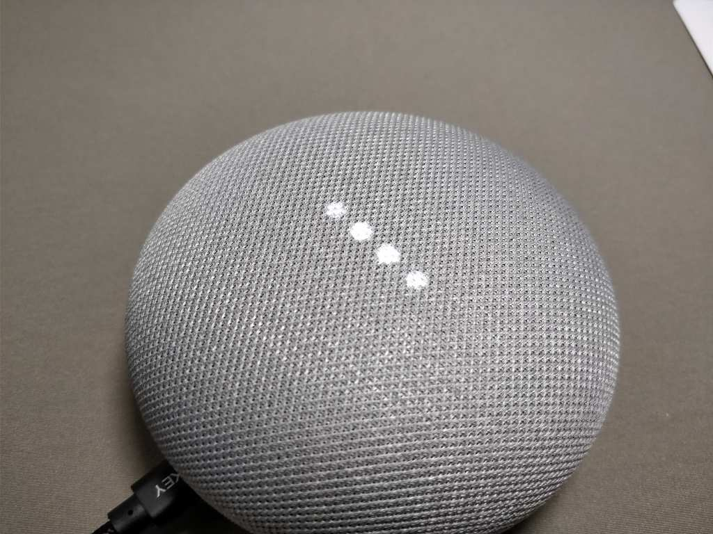 Google Home Mini ライト