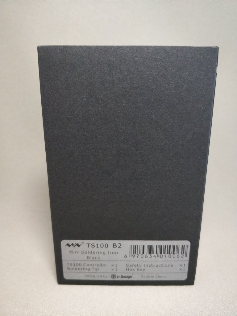 MINI TS100 ハンダゴテ 化粧箱2