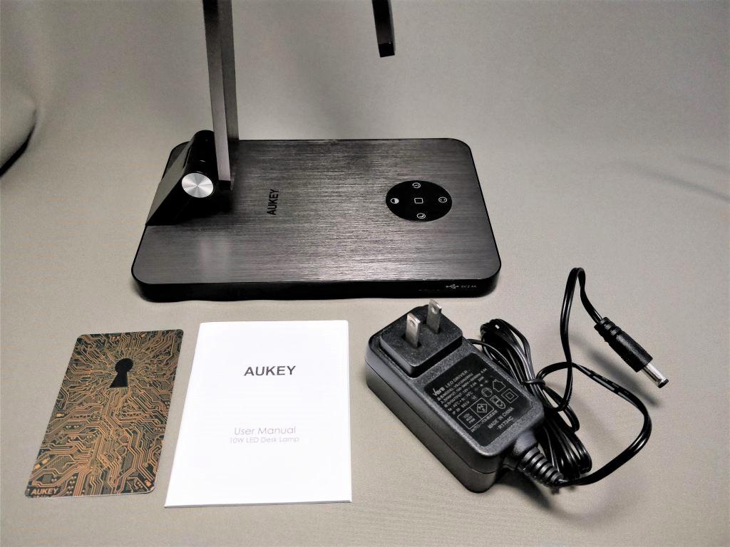 AUKEY LEDデスクライト LT-ST31 セット