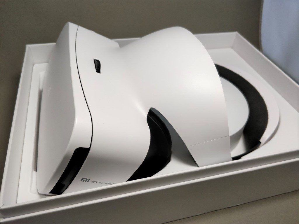 Xiaomi VR 3D Glasses  開封 斜め