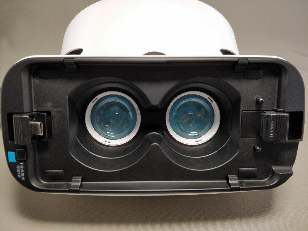 Xiaomi VR 3D Glasses スマホ装着 1