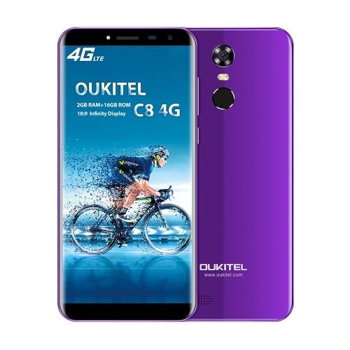 OUKITEL C8 MTK6737 1.3GHz 4コア