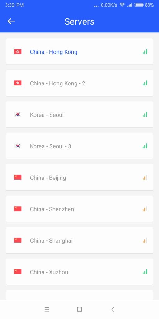 Xiaomi Mi MIX2 設定 Additional settings > Developer options > Mi Unlock status PlexVPN 徐州