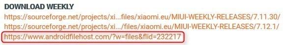 Xiaomi Mi MIX2 Xiaomi.eu ROM2
