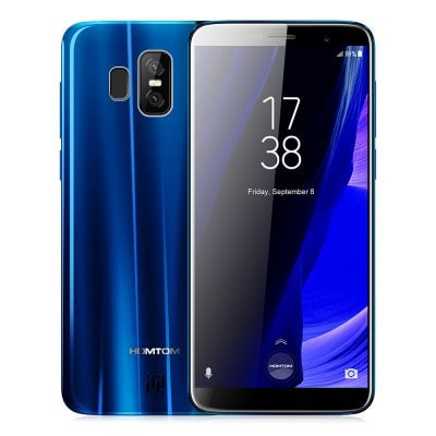 gearbest HOMTOM S7 MTK6737 1.3GHz 4コア BLUE(ブルー)