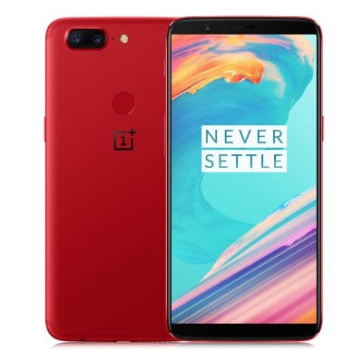 gearbest OnePlus 5T Snapdragon 835 RED(レッド)