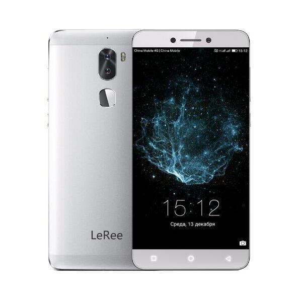 banggood Letv LeRee Le 3 Snapdragon 652 MSM8976 1.8GHz 8コア GRAY(グレイ)