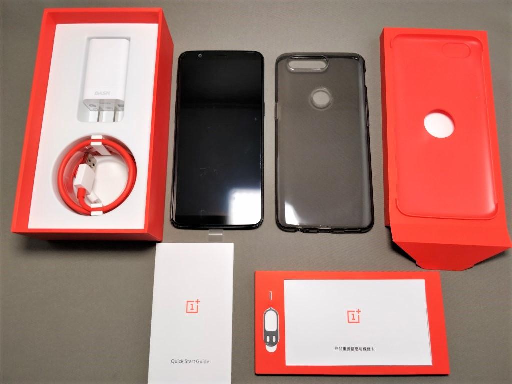 OnePlus 5T 付属品 全部