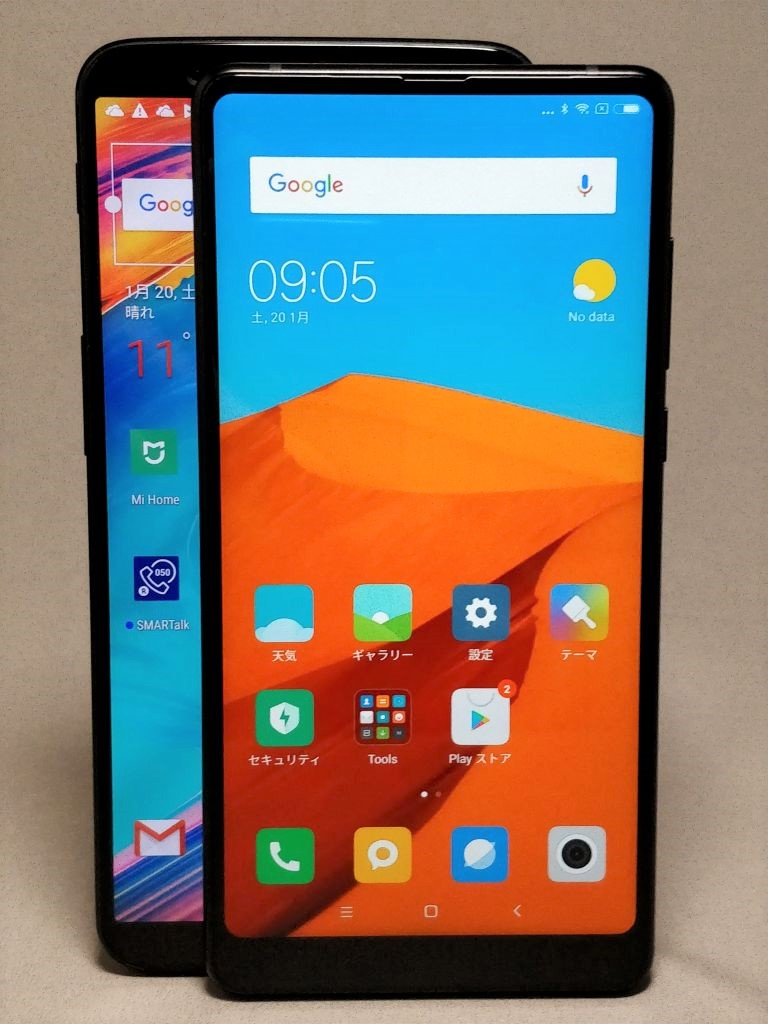 Xiaomi Mi MIX2 & OnePlus 5T