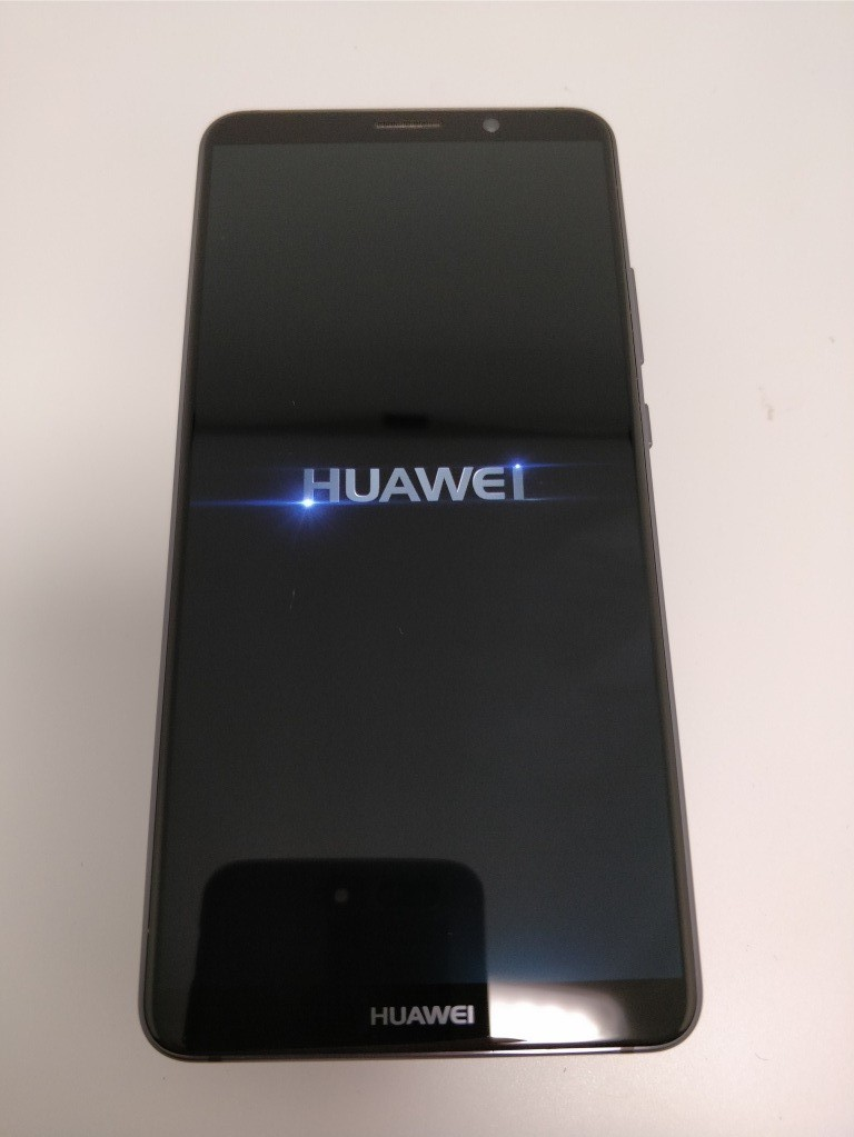 Huawei Mate 10 Pro 起動